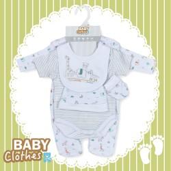 Infants 5pcs set animal 100% Cotton animal (Pre-order offers)
