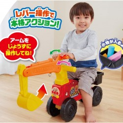 Pinocchio Anpanman Riding Excavator Toy (1.5Y~5Y) **Self pick by cash $439**
