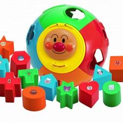 Pinocchio Anpanman Shape Puzzle Toy 1.5Y+