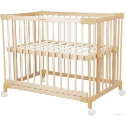 Babubu 7 in 1 Multi Purpose Baby Cot 0-24M