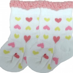 Baby Story Newborn Baby Socks Made in Japan 9-12cm