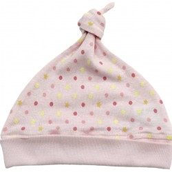 Baby Story Made in Japan Star X polka dot hat (0-4 Months)