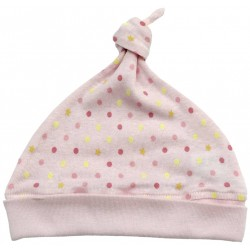 Baby Story Made in Japan Star X polka dot hat 0-4M
