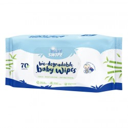 Baby Swipe Biodegradable Baby Wipes 70pcs