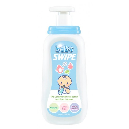 Baby Swipe The Concentrate Milk Bottle and Fruit Cleanser 650ml