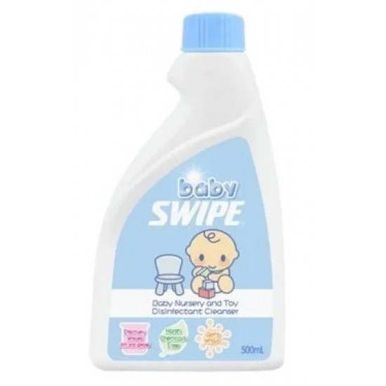 Baby Swipe Baby Nursery and Toy Disinfectant Cleanser 500ml (Refill)