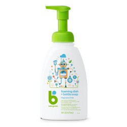 Babyganics Foaming Dish & Bottle Soap (Fragrance Free) 473ml