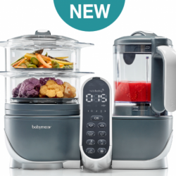 Babymoov Nutribaby+ Food Steamer and Blender **Self pick by cash $1278**