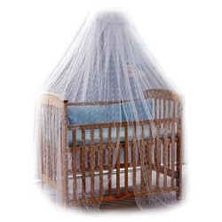 Baron Puppy Mosquito Net Stand Set For Baby Cot And Cot Bed