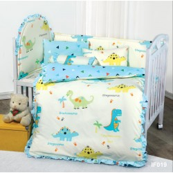 **Self pick by cash $599** [Official Goods] Cherry 100%Cotton Cartoon Baby Bedding Set (12pcs) IF019