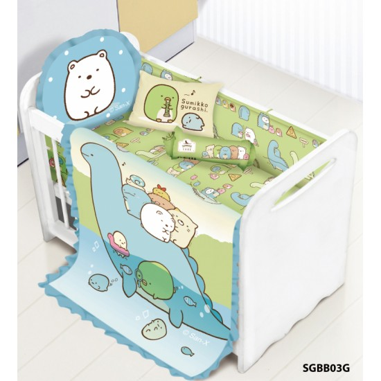 Cherry 100%Cotton Sumikko Gurash Baby Bedding Set (12pcs) SGBB03