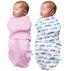 ClevaMama Baby Swaddle to Sleep 0-3M