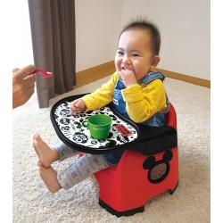 Disney Baby Chair, Mickey Mouse Low Meal Chair (Red)
