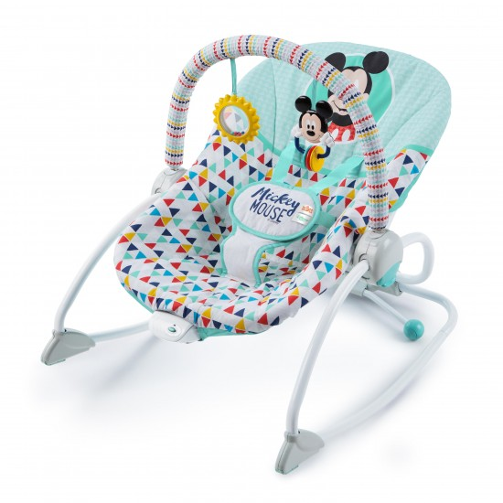 MICKEY MOUSE Happy Triangles Infant to Toddler Rocker™ **SELF PICK BY CASH $670**