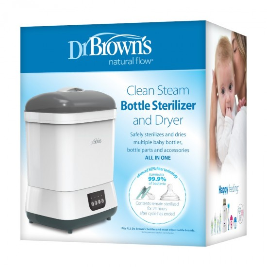 Dr. Brown's Clean Steam Bottle Sterilizer and Dryer **Self pick by cash $679**