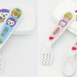 Edison Pororo Self Spoon & Fork Case Set 9M+