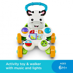 Fisher-Price® Learn with Me Zebra Walker ( DKH80 )