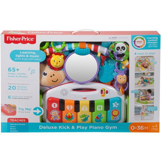 Fisher-Price Deluxe Kick & Play Piano Gym (FGG45) 0-36M **Self pick by cash $509**
