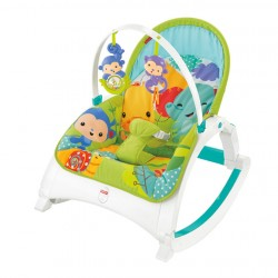 Fisher Price Portable Rocker—Rainforest (Newborn to Toddler)