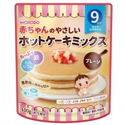 Wakodo Pancake Mix for Baby - Original 100g 9M+