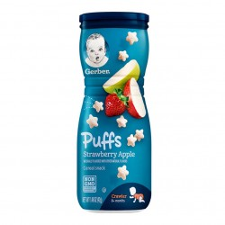 Gerber Puffs Strawberry Apple 42g 8M+