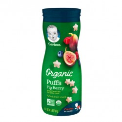 Gerber Organic Puffs Fig Berry 42g 8M+