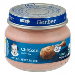 [Official Goods] Gerber Chicken & Gravy 71g 6M+