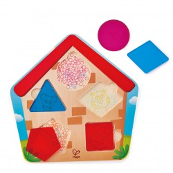 Hape Who's In the House Puzzle (6pcs) 24M+