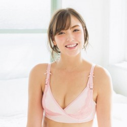 Inujirushi Bra with lift-up adjustment function (BR1259) PINK