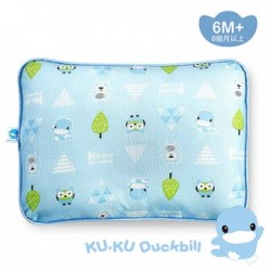 KUKU Duckbill 3D Breathable Baby Pillow (Blue) 6M+