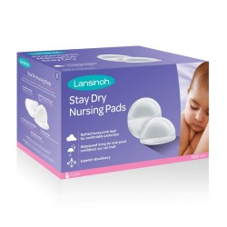 Lansinoh Stay Dry Disposable Nursing Pads (100pcs)
