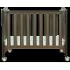 MISUKI Baby Cot  ECO-01  AUTHORIZED GOODS