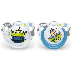 NUK Buzz & Alien Silicone Soother 0-6M / 6-18M / 18-36M (2pcs)