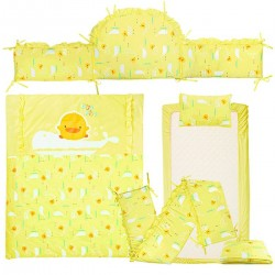 Piyo Piyo 7-Piece Crib Set