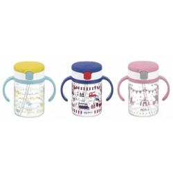 Richell Aqulea R- Clear Straw Bottle Mug 200ml