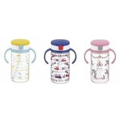 Richell Aqulea R- Clear Straw Bottle Mug 320ml 7M+