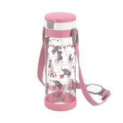 Richell Aqulea R- Clear Straw Bottle Mug 450ml 7M+