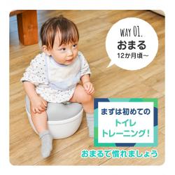 Shinse 3 WAY Toilet Seat 6M+