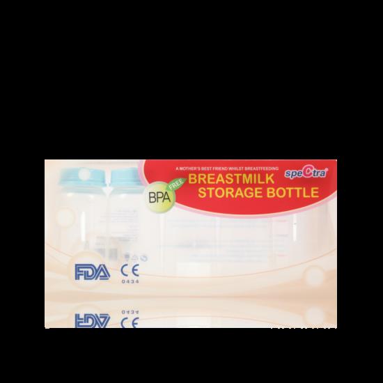 Spectra PP Standard Neck Milk Storage Bottle 150ml (5pcs)