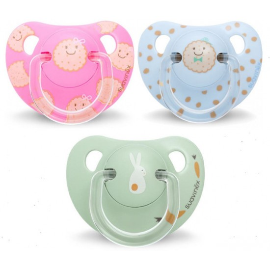Suavinēx Anatomico Silicone Soother 6-18M