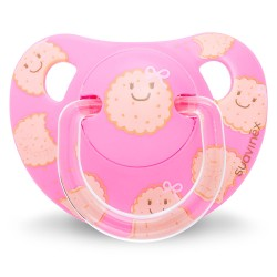 Suavinēx Anatomico Silicone Soother 6-18M (with Soother Clip)