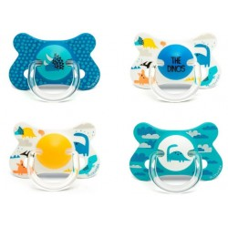 Suavinēx Fusion Silicone Soother 18M+