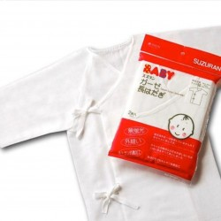 Suzuran Newborn Baby Undershirt (Long) 2pcs