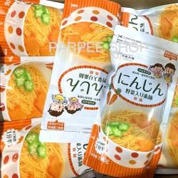 TOUGEN NOODLES SALT FREE BABY VEGETABLE NOODLES -Carrot 160g