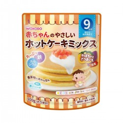 Wakodo Pancake Mix for Baby - Pumpkin & Sweet Potato 100g 9M+