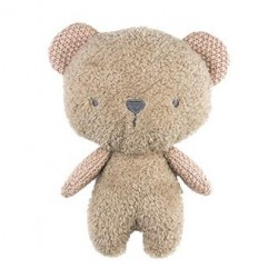BUBBLE KNITTED PLUSH CUDDLY TOY - BEANIE THE BEAR