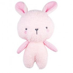 BUBBLE KNITTED PLUSH CUDDLY TOY - Lily the Bunny