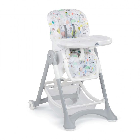 CAM Campione High Chair - White/Lovely Friends Made in Italy