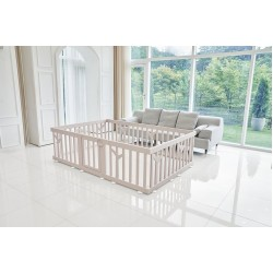 [Official Goods] iFam Birch Baby Room 217x146x62.5cm (Brown)