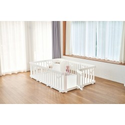 [Official Goods] iFam Birch Baby Room 217x146x62.5cm (White)